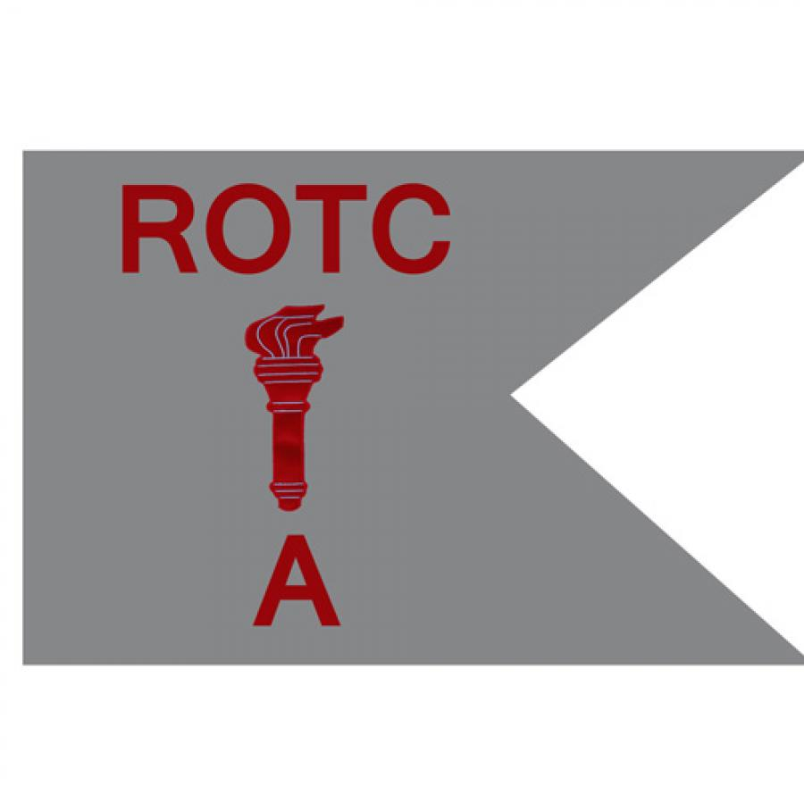 Guidon Flag ROTC With Torch And Letter A (Each)