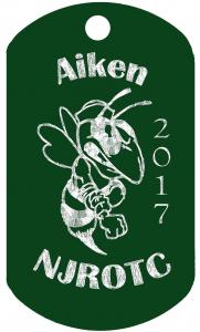 aiken njrotc hornets dogtags dog tags
