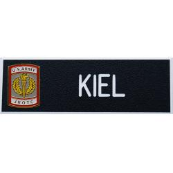 Army JROTC Crest Nameplate (Each)
