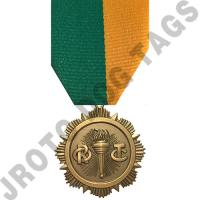 Instructor Award Stock Medal