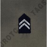 Cadet 3rd Class (C/3C) ABU Rank ROTC Sew On (Pair)