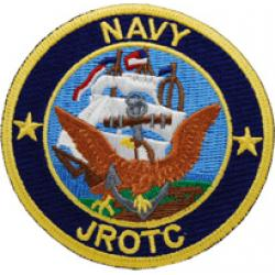 Navy JROTC (NJROTC) Color Patch Sew On
