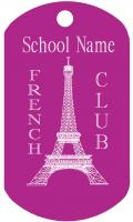 French Club Dog Tag T084