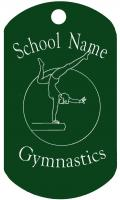 Gymnastics Dog Tag T090