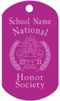 National Honor Society Dog Tag T092
