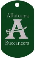 Allatoona Buccaneers Dog Tag T617