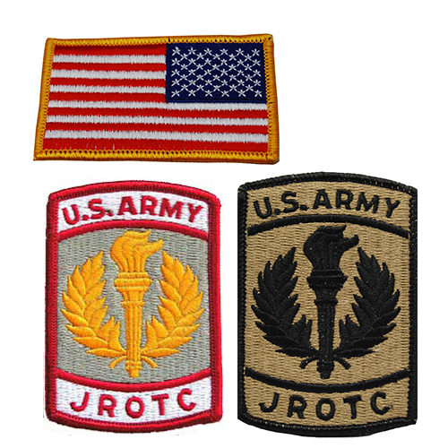 JROTC Patches