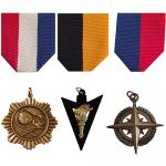 Optional Medals & Drapes