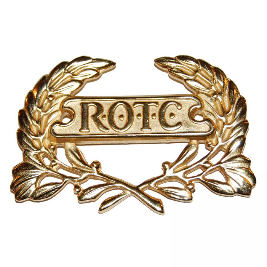 ROTC Wreath Gold Pin Back (For Berets) (Each)