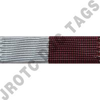 Maroon and Grey Ribbon Optional Color Awards (Each)