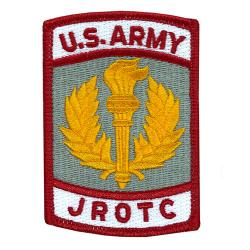 Army JROTC Cloth Patch Color (Each)