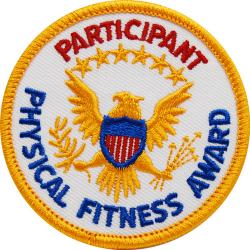 Participant Physical Fitness Patch (Each)