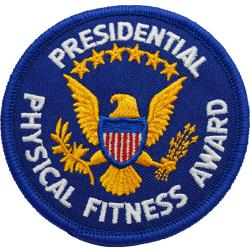 Presidential Physical Fitness Patch (Each)
