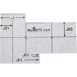 JROTC Uniform Ruler (Each)
