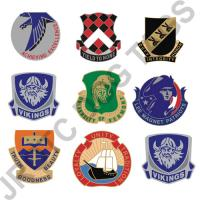 Custom DUI Crest Pins  (100 Pack)  (Takes Minimum 4 Weeks)