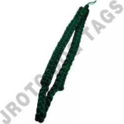 Kelly Green Box Shoulder Cord (Button Loop) (Each)