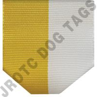 Yellow/White Drape (Each)