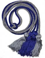 Custom Combination Solid Color Double Graduation Cord (Each)