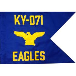 Air Force Guidon Flag with Eagle (Each) (Allow 3 Months)