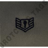 Staff Sergeant (SSgt) ABU Rank JROTC Sew On (Pair)