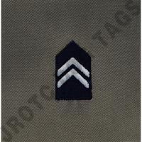 1st Lieutenant ABU Cadet Rank JROTC Sew On (Pair)