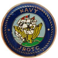 NAVY JROTC Crest For Nameplate Each