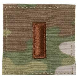 Air Force Active Duty OCP Rank 2nd LT (Hook Back)