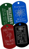 military ball custom dog tags dogtags