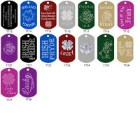 St Patrick's Day Special Dog Tags
