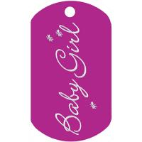 Baby Girl Dog Tag T019