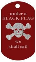 pirate under a black flag we shall sail