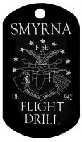 smyrna flight drill high school dog tags