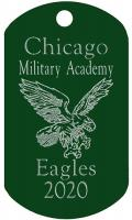 Chicago Military Academy Dog Tag T729